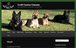 Croft Canine Classes